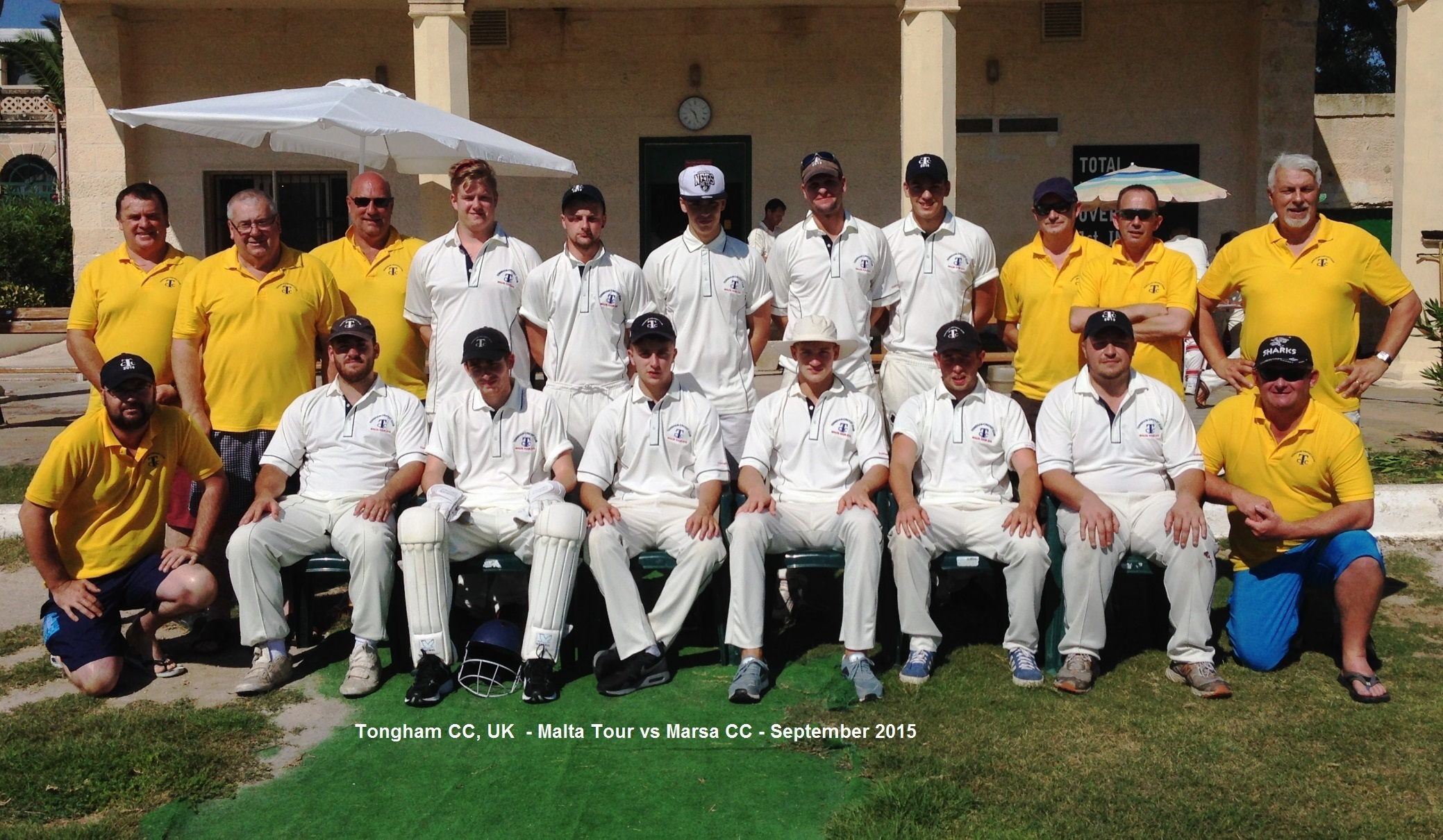 Tongham CC - Malta Cricket Tour - Sept 2015